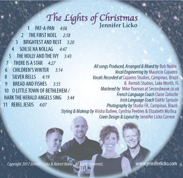 The lights of christmas tracks