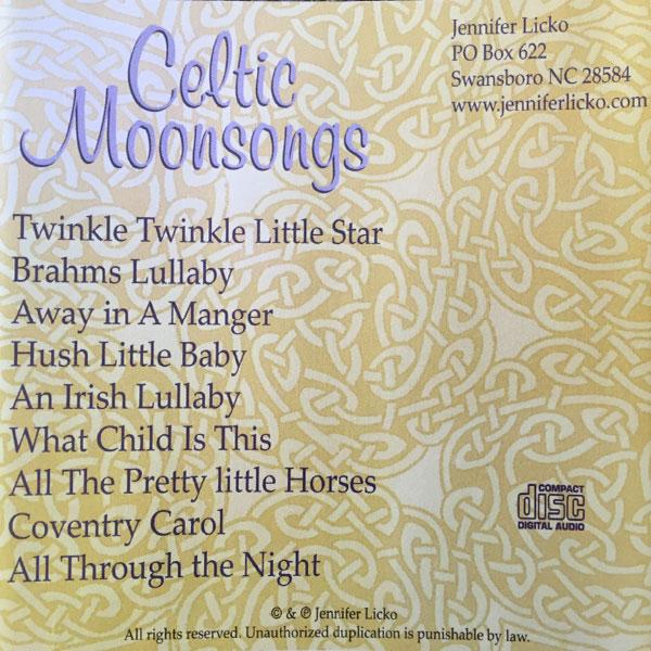 celtic lullabies track list