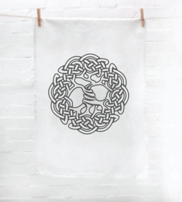 Celtic Tea Towel